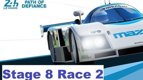 Path of Defiance Stage 8 Race 2 (3-1-3-2-3-2-1)