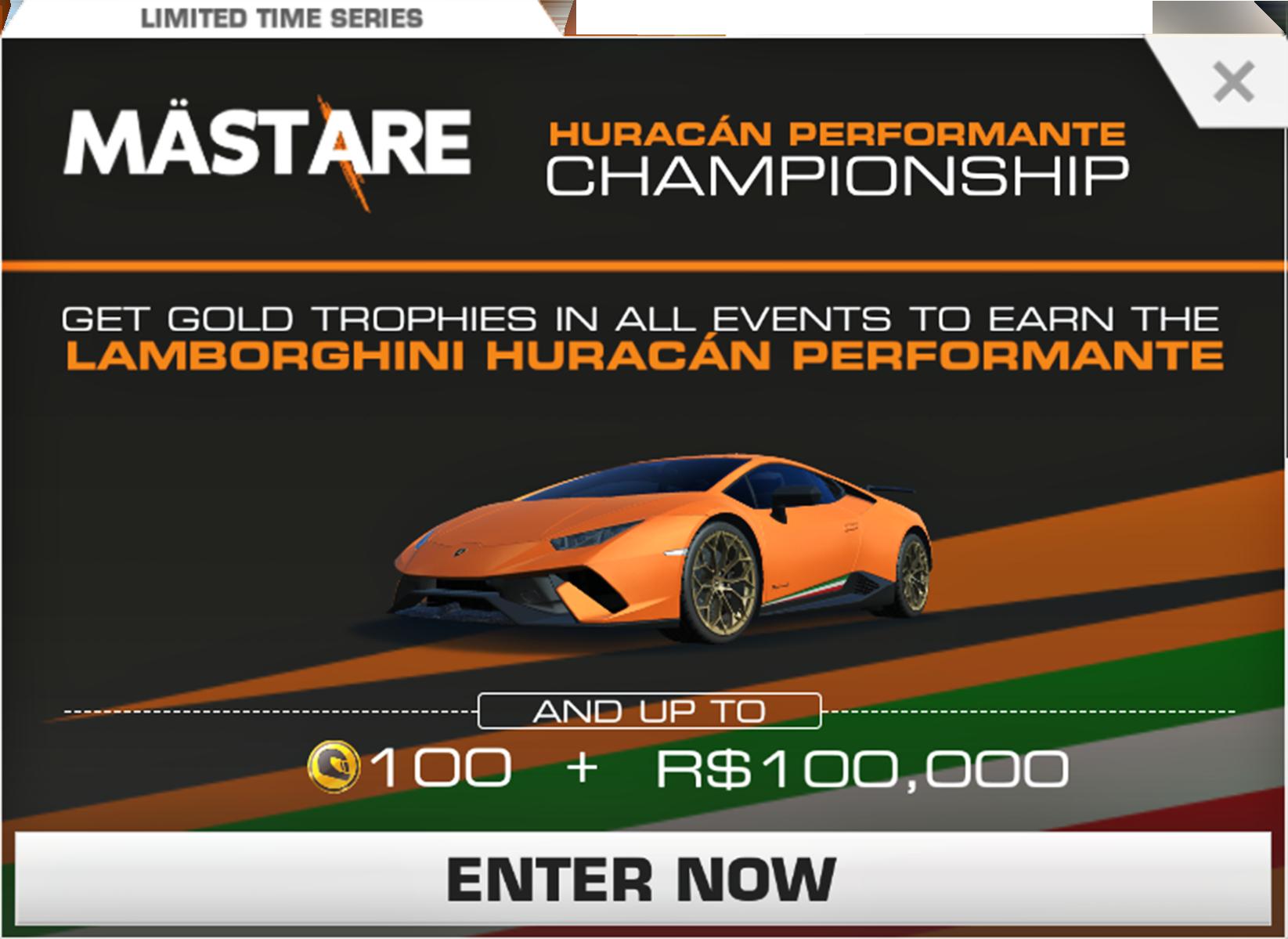 Lamborghini Huracan Performante Championship Real Racing 3 Wiki