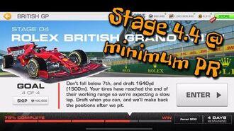 British GP Stage 4.4