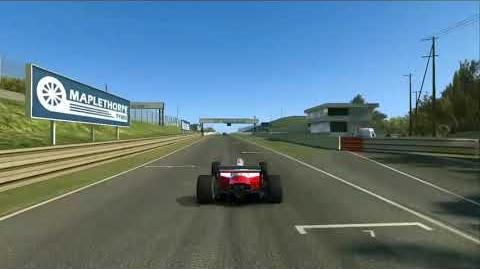Real Racing 3 - Fearless Stage 7.3 - eaten by the tyre wall!-0