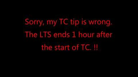 TC Tip is wrong sorry
