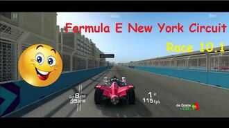 Real Racing 3 Formula E New York Circuit Race 10.1 (10 Laps) PR 55.6