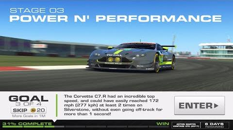 RR3 Balance Of Power Stage 3 Goal 3 Upgrades 1110100 Real Racing 3