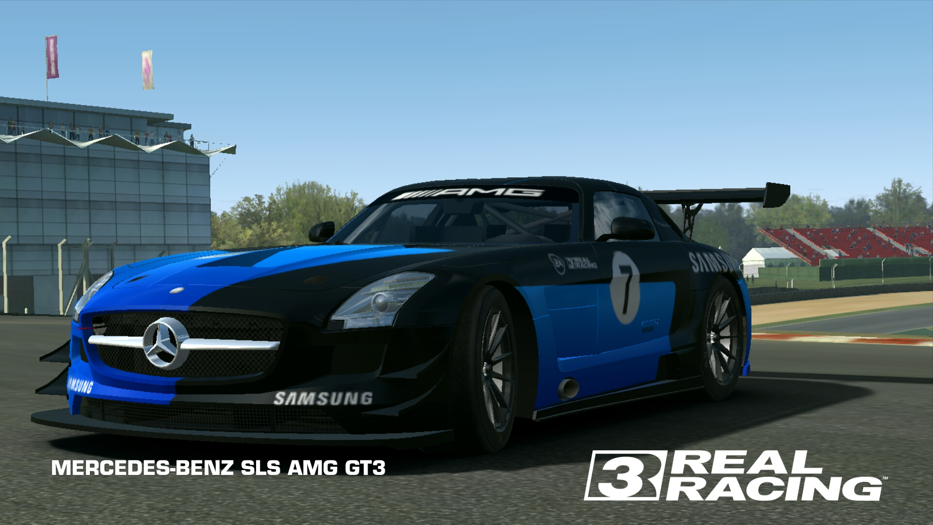 mercedes benz sls amg gt3 real racing 3 wiki fandom. Black Bedroom Furniture Sets. Home Design Ideas