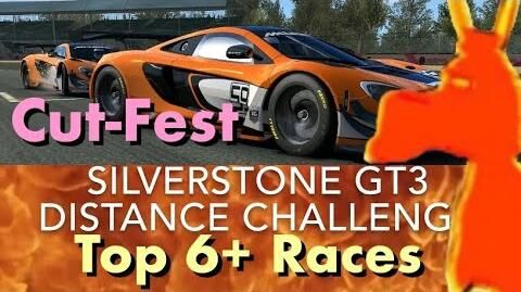 Real Racing 3 RR3 Silverstone GT3 Distance Challenge Cut-Fest Top 6 Races