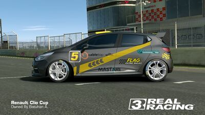 Clio Cup Team SB No.5 Side2