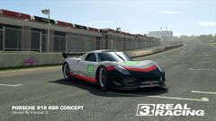 Porsche GT Racing Team No. 89 918 RSR