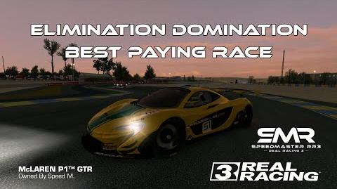 Real Racing 3 Elimination Domination Challenge Best Choice RR3