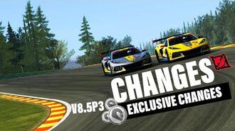 RR3 V8.5 Some Changes (Part 3 Motivated Changes)