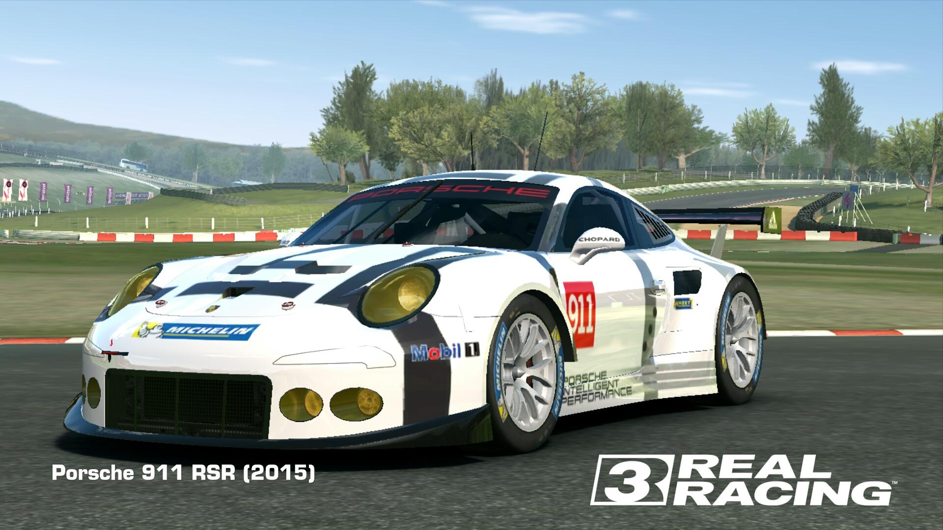 Showcase Porsche 911 RSR (2015)