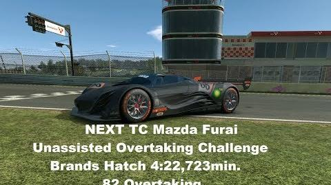 NEXT TC Mazda Furai Brands Hatch 4 22,723min. =82 Over