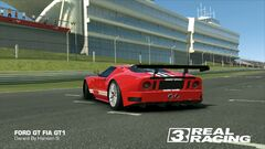 Ford GT FIA GT1 (Remastered Stripes, Back)