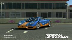 McLaren F1 (Gulf Livery 2)