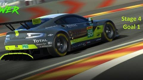 Real Racing 3 RR3 - Balance Of Power - Stage 4 Goal 1 ( Upgrades = 1111111 )