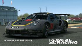 PORSCHE 911 RSR (2020) Shaun Coutts livery