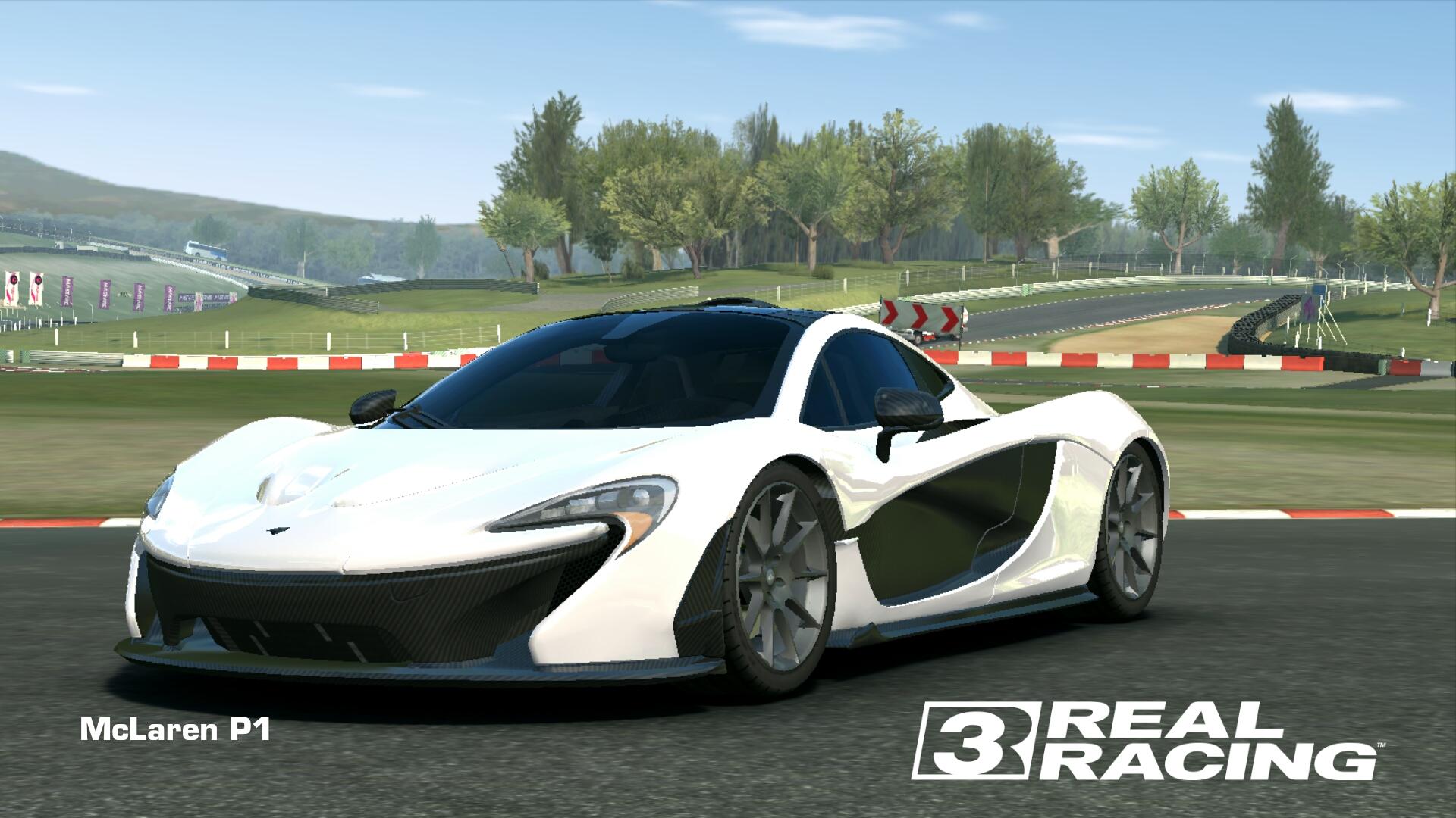Showcase McLaren P1