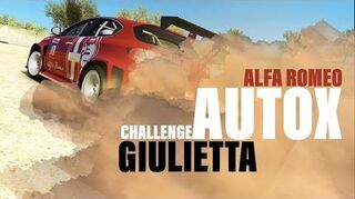 Alfa Romeo Giulietta TCR Autocross Challenge (Best Option)