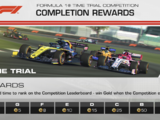 Formula 1® Silverstone Time Trial Competition