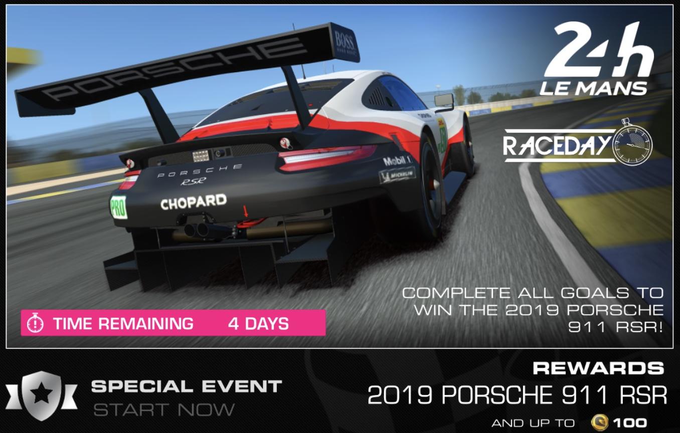 Race day le mans 2019