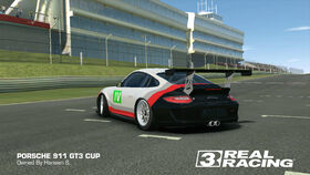 Porsche GT Racing Team No. 4 911 GT3 Cup (Back)