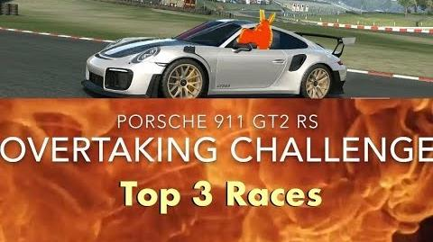 Real Racing 3 RR3 Porsche 911 GT2 RS Overtaking Challenge Top 3 Races-0