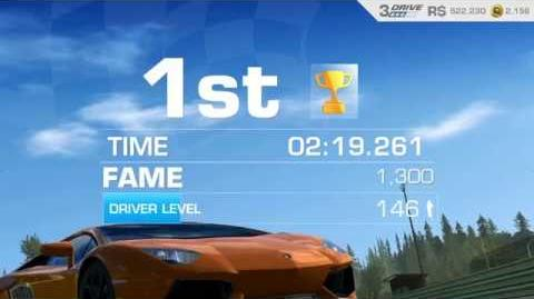 Lamborghini's Legacy, Stage 6 Race 2, using Lamborghini Aventador LP 700-4