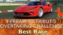 Real Racing 3 RR3 Ferrari F8 Tributo Overtaking Challenge Best Race
