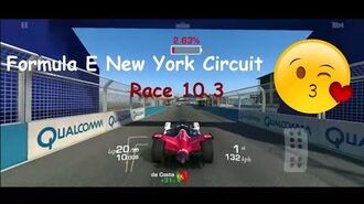 Real Racing 3 Formula E New York Circuit Race 10.3 (20 Laps) PR 55.8
