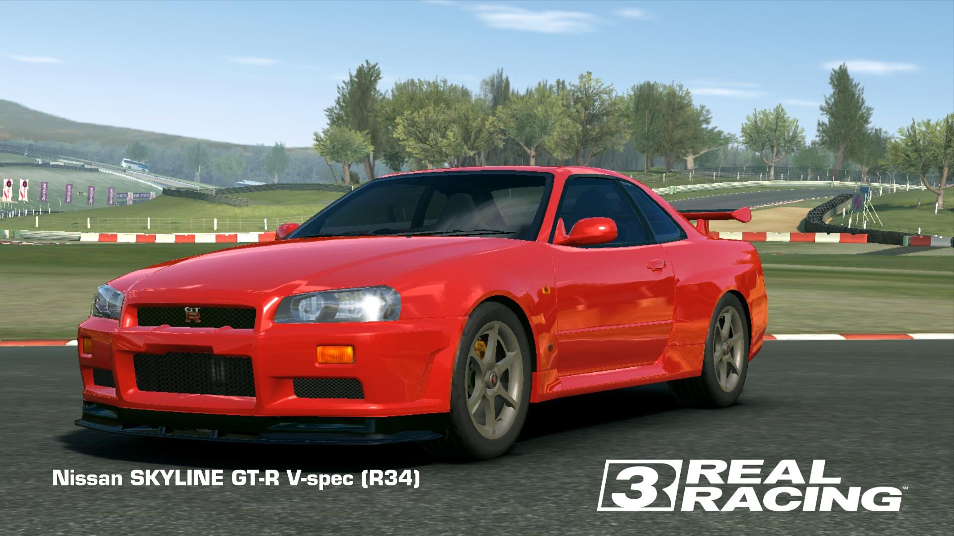 Showcase Nissan Skyline GT-R V-Spec (R34)