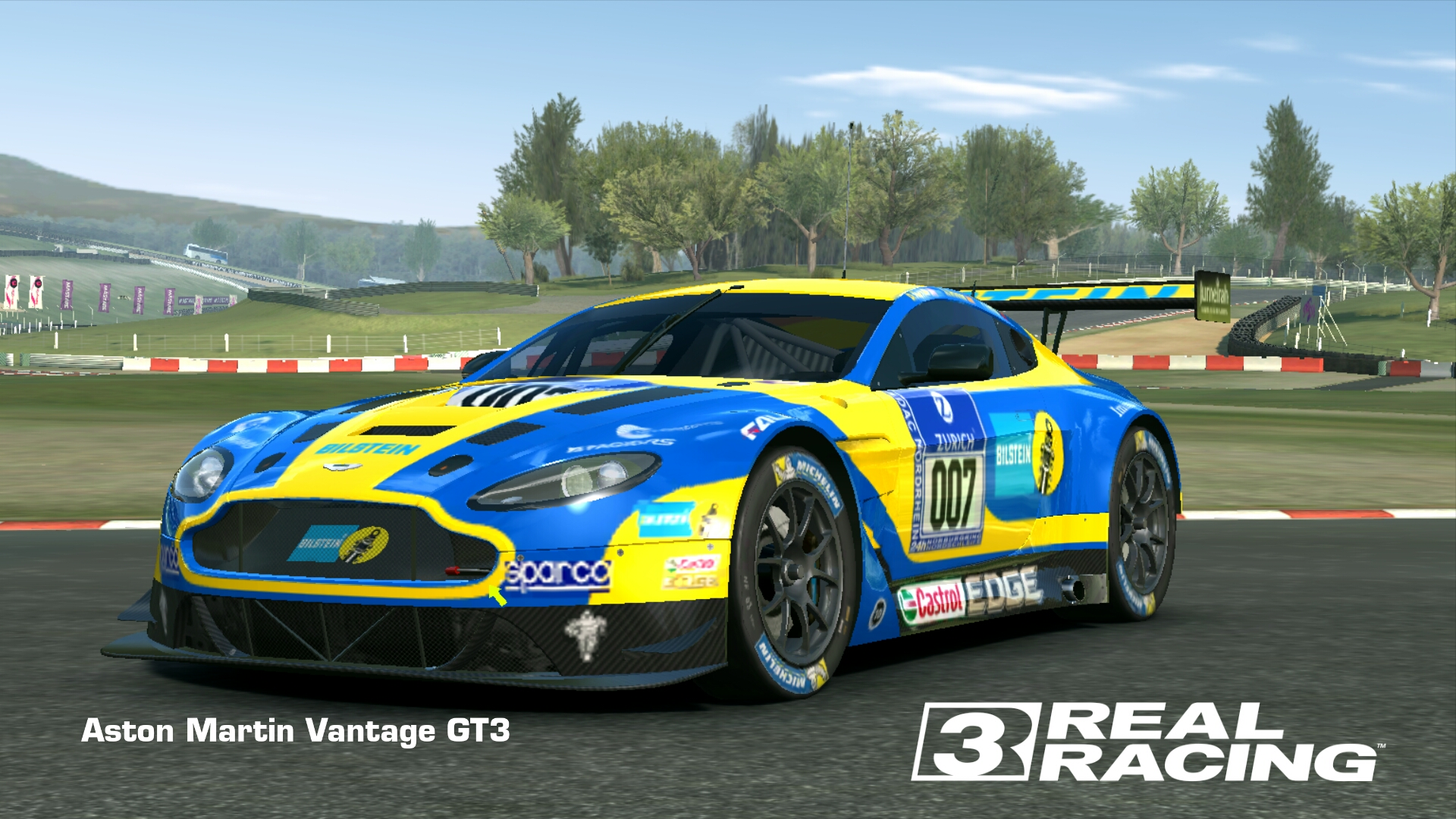 Showcase Aston Martin Vantage GT3
