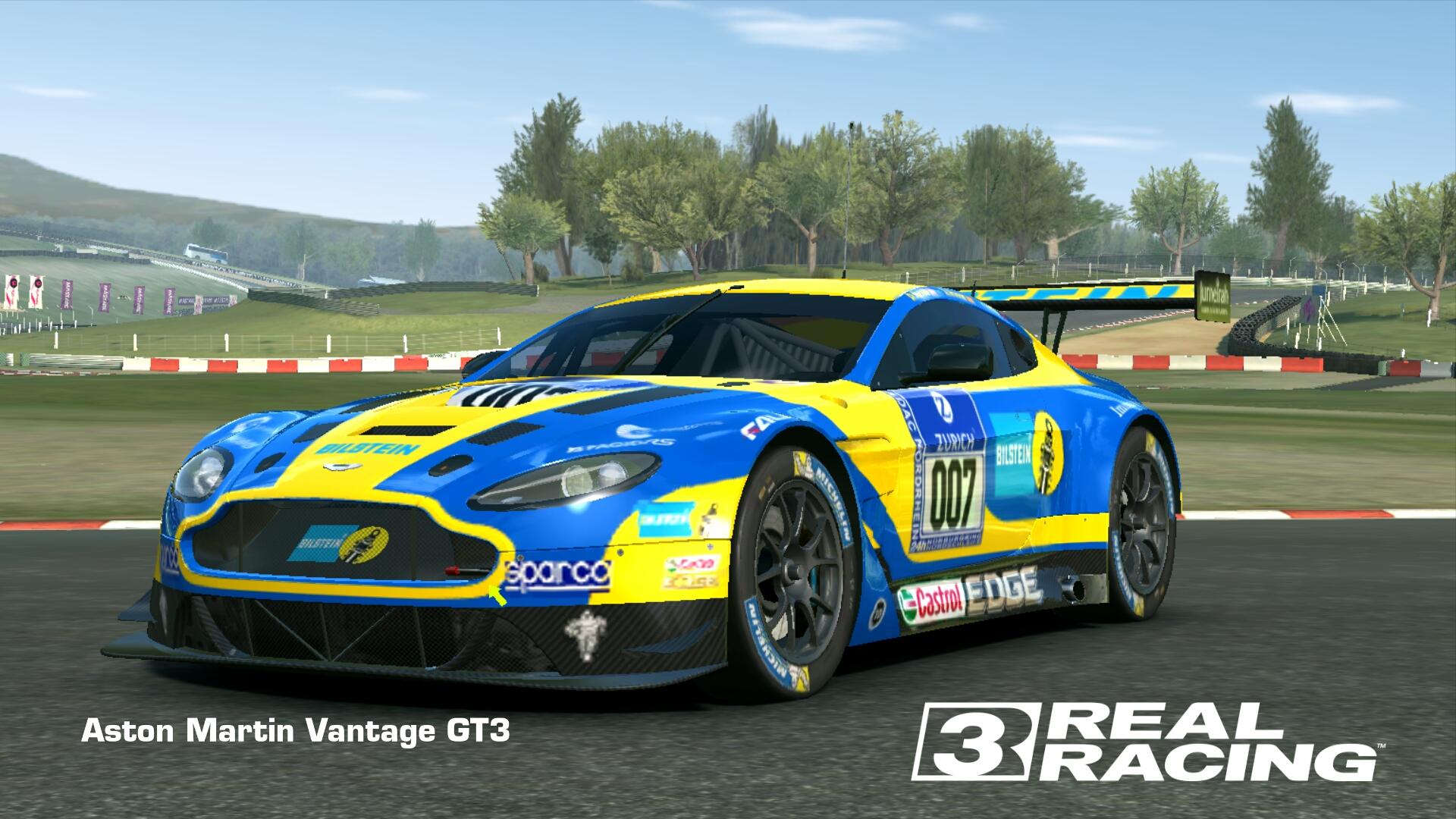 Showcase Aston Martin Vantage GT3
