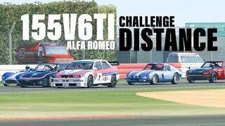 Alfa Romeo 155 V6 Ti Distance Challenge (Best Option)