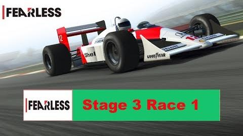 Fearless Stage 3 Race 1 no upgrades