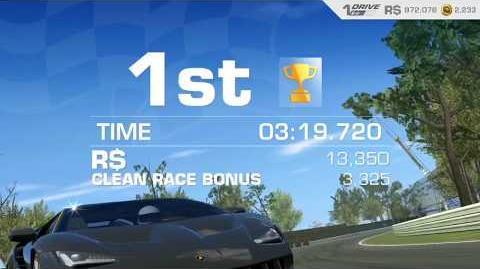 Lamborghini's Legacy, Stage 7 Race 4, Upgrades 3232122