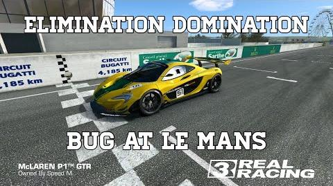 Real Racing 3 Elimination Domination Bug At Circuit Des 24 Heures (Le Mans) RR3-0