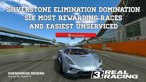 Real Racing 3 Silverstone Elimination Domination 6 Most Rewarding Races With Easiest Unserviced RR3