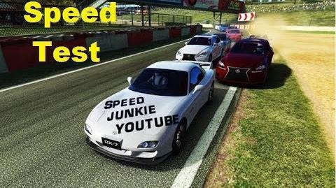 Speedtest Mazda RX-7