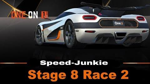 ONE on 1 Stage 8 Race 2 only R$ Upgrades