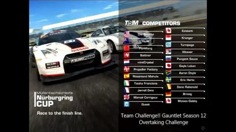 !!Team Challenge!! Gauntlet Season 12 Overtaking Challenge