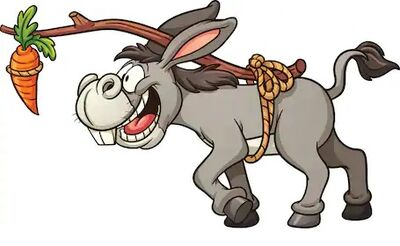 Donkey-following-carrot-tied-back-260nw-282473300