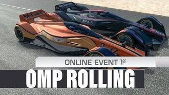 OMP Rolling (MP4-X Head To Head Chasing At Le Mans)