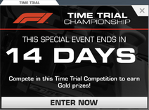 Formula 1® Monza Time Trial Competition