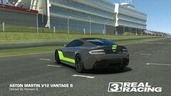 2017 Vantage GTE in V12 Vantage S (Back)