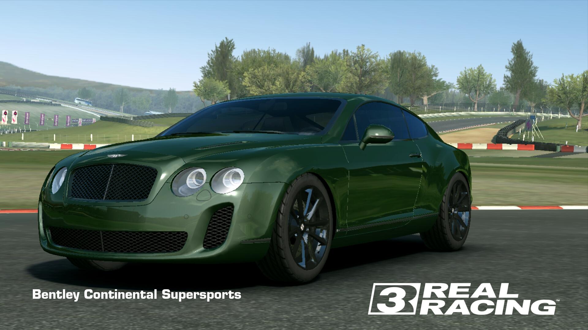 Showcase Bentley Continental Supersports