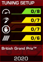 Tuning Setup British Grand Prix™ 2020
