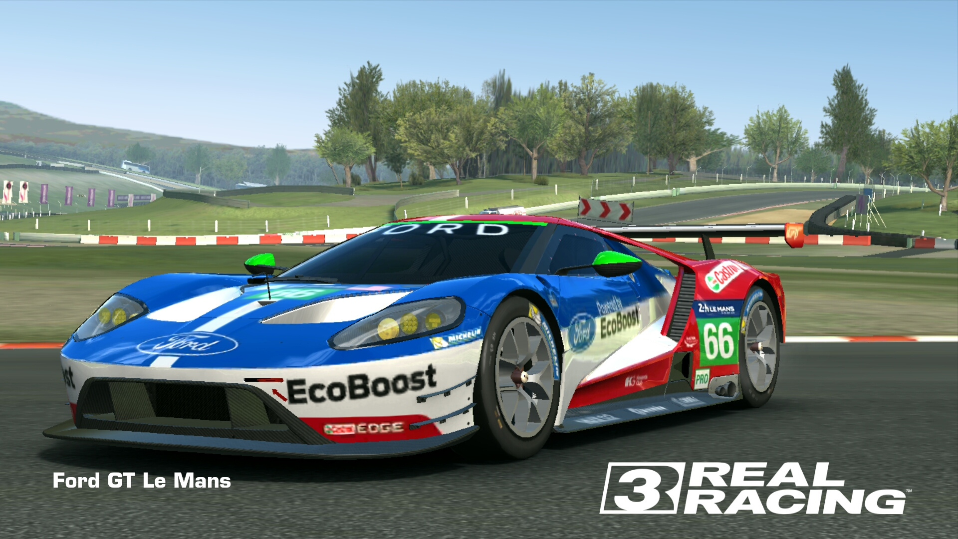 Real Racing  Cars Fully Upgraded