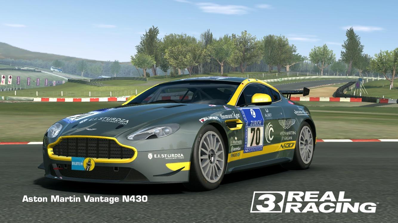 Showcase Aston Martin Vantage N430