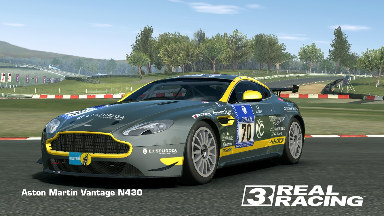 image - showcase aston martin vantage n430 | real racing 3