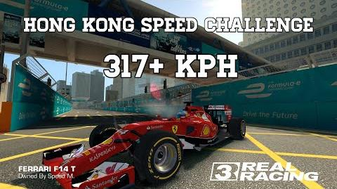 Real Racing 3 Hong Kong Speed Challenge 317 kph Normal And Reverse Run RR3-0