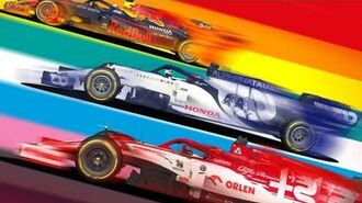 F1 2020 Real racing 3 All official car